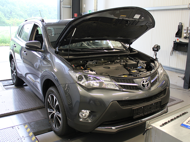 toyota kluger fuse box location