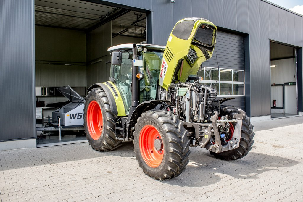 Dyno For Tractors : Powercontrol tractor